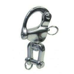 Mousqueton inox de Drisse, émerillon manille Inox A4 / AISI 316 Qualité Marine