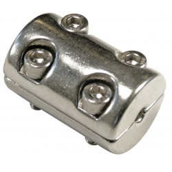 Serre câble Inox A4 / Aisi 316 2 parties (4 vis)