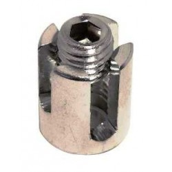 Serre câble croisé ouvert inox A4 / AISI 316
