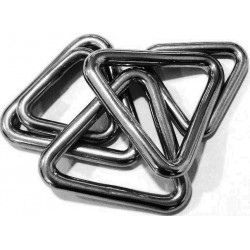 Anneau inox A4 Triangle