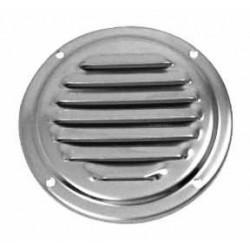 Grille ronde de ventilation en inox A4 qualité marine