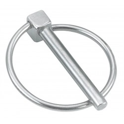 Goupille clip avec anneau Inox A4