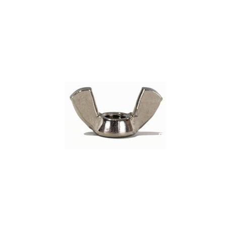 Ecrou inox à oreilles forme américaine ( Inox A2 / AISI 304 - A4 / AISI 316 )