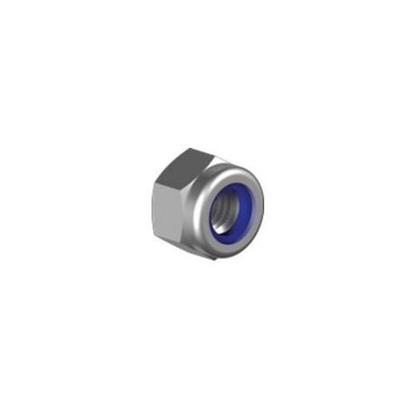 Ecrou inox indesserrable haut - Inox A2 / AISI 304 et inox A4 / AISI 316