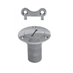 Nable de pont, pièce de fonderie, poli, (Eau,Carburant,Eaux Usées) Inox A4 / AISI 316
