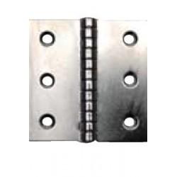 Charnière Epaisseur 1,5 - Inox A2 / AISI 304 - Du 40 X 30 au 100 X 100