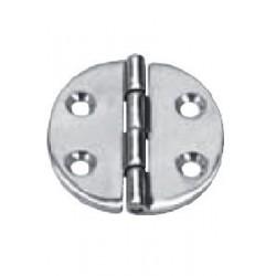 Charnière Ronde Diam : 64 X 4, pièce de fonderie, polie, Inox A4 / AISI 316
