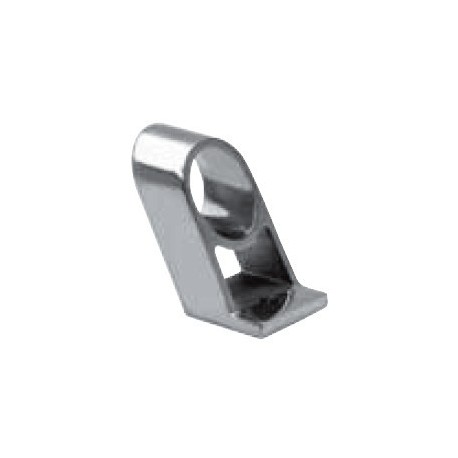 Passage main courante 60°, pièce de fonderie, polie, Inox A4 / AISI 316
