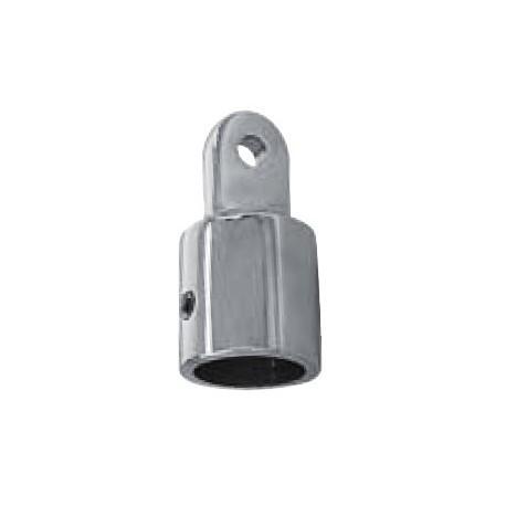 Embout pour tube, pièce de fonderie, polie, Inox A4 / AISI 316