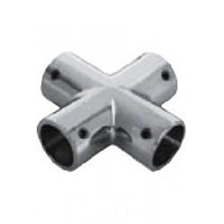Support en croix, pièce de fonderie, polie, Inox A4 / AISI 316