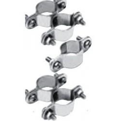 Collier de serrage, D - 22 - 30 mm, série lourde, inox A2 / AISI 304