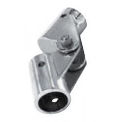 Charnière pour tube, pièce de fonderie, poli, Inox A4 / AISI 316