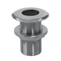 Passe coque, pièce de fonderie, polie, Inox A4 / AISI 316
