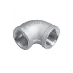 Coude femelle 90° Inox A4 /AISI 316