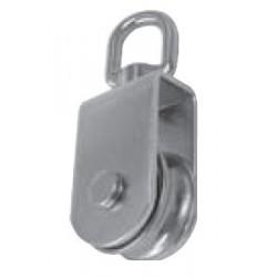 Poulie dériveur/émerillon, inox A2 / AISI 304
