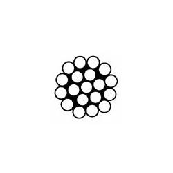 Cable Inox A4 / AISI 316 monotoron 1 x 19