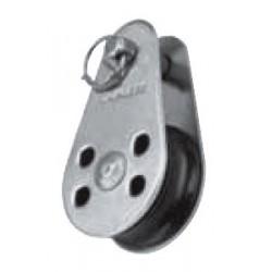 Poulie dériveur, réa nylon, Inox A2 /AISI 304