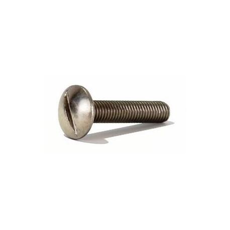 """Vis à métaux TRL Fendue """" Poelier """" Inox A2 / AISI 304"""